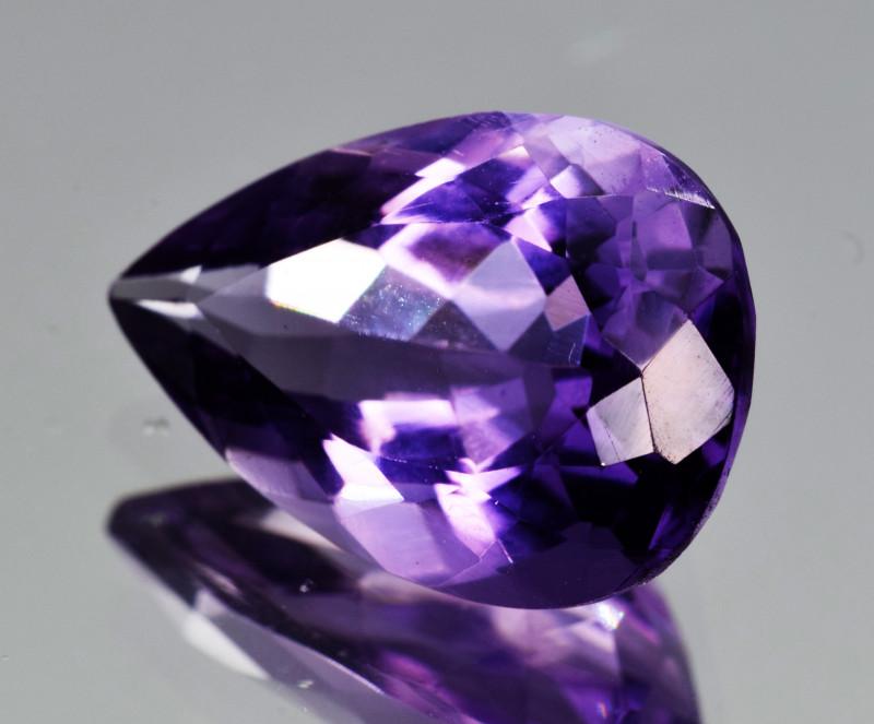 Natural Amethyst 5.64  Cts, Good Quality Gemstone