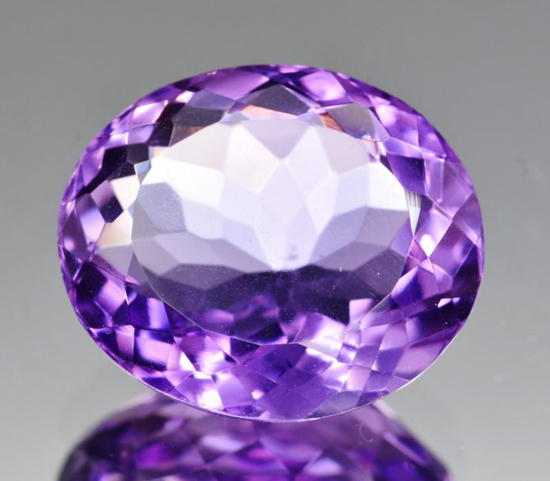 Natural Amethyst 9.32  Cts, Good Quality Gemstone