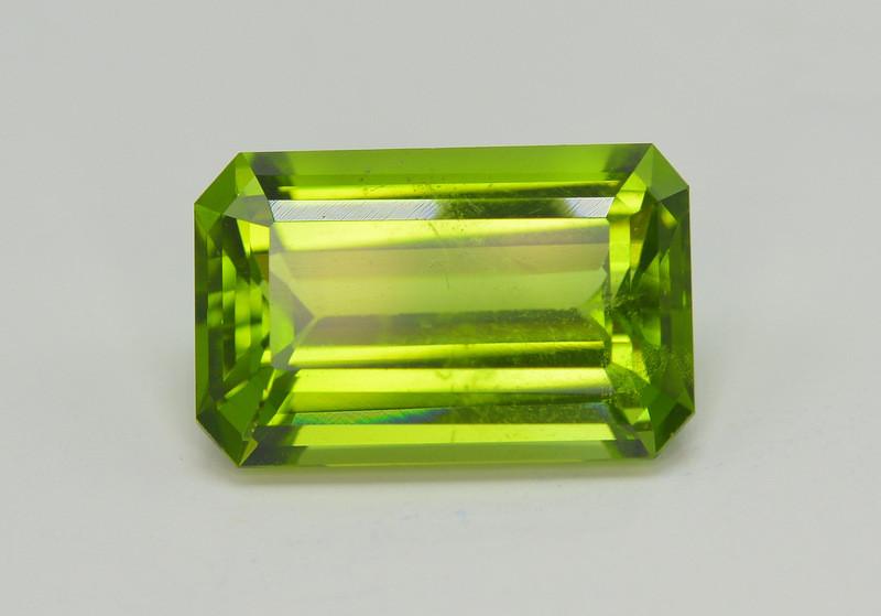 8.05 Carat Natural Grass Color Peridot Gemstone