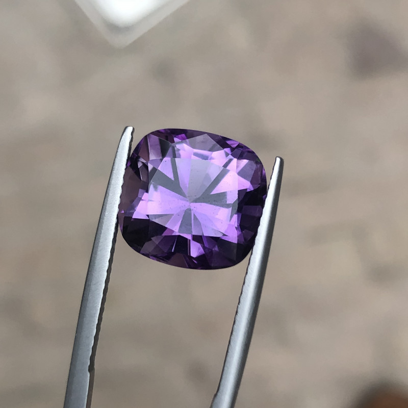 7.15 Carats Natural Amethyst Cut Stone from Africa