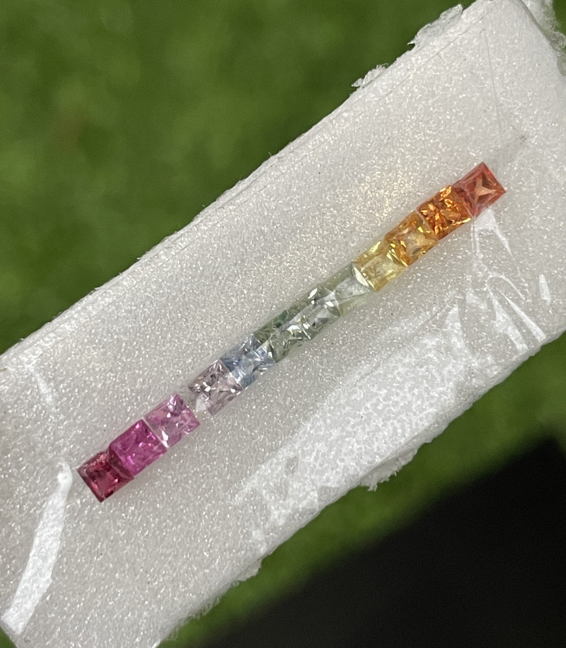 2.20 CT fancy Sapphire Gemstones