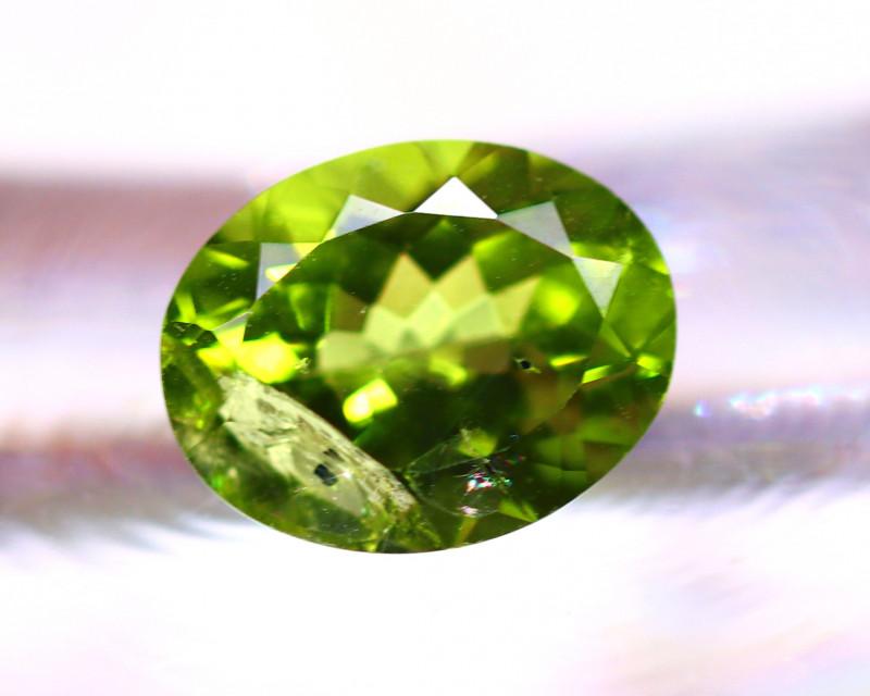 Peridot 2.67Ct Natural Pakistan Himalayan Green Peridot E0614//A10