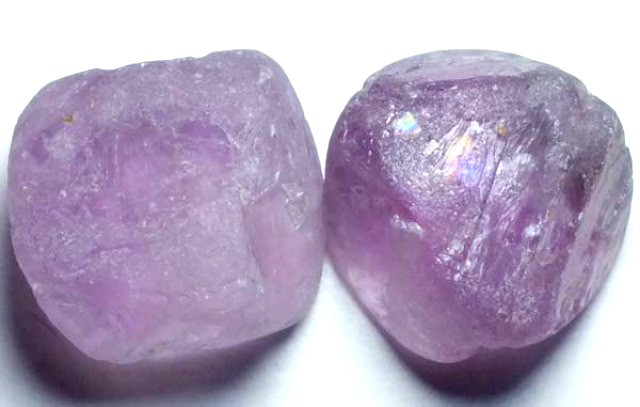 AMETHYST DRILLED BEAD (2PCS) 110.15CTS NP-1476