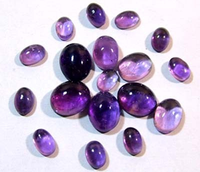 AMETHYST CABS (PARCEL) 17.35 CTS
