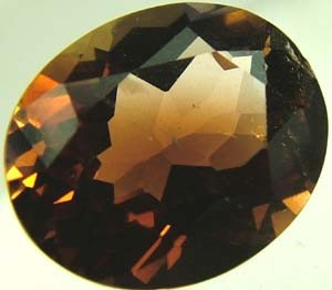 VVS CONGAC TOPAZ-RICH COLOUR  -  3.85 CTS [S4910]