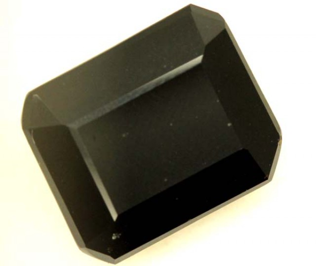 BLACK ONYX STONE FACETED 10 CTS   ADG-794