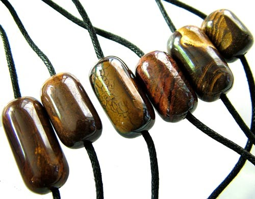 CHOCOLATE IRONSTONE BEAD PARCEL 244.90 CTS [GT 1757]