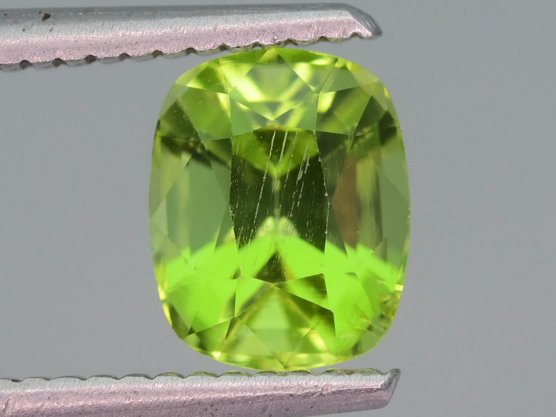 Lovely Color & Cut 1.90 ct Peridot Ring Size