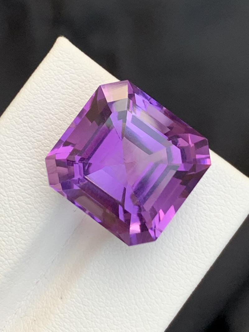 19.15 Carats fancy cut amethyst gemstone