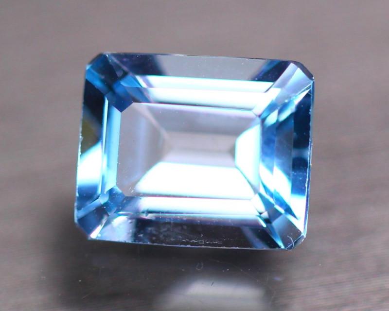 5.41Ct Natural Sky Blue Topaz Octagon Cut GW9528
