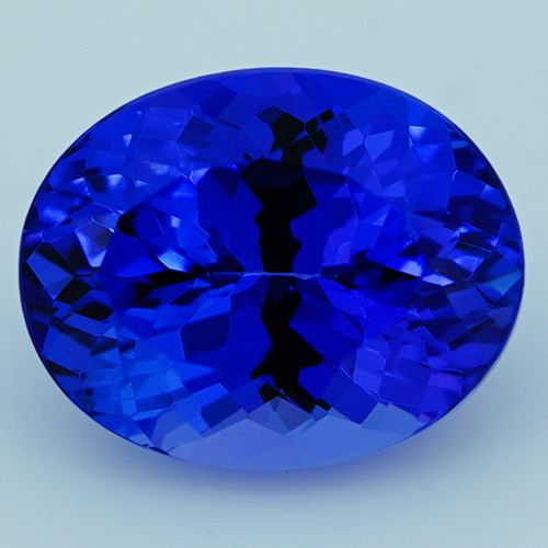 3.90 CT Royal Blue Top Quality Natural Tanzanite T2-27