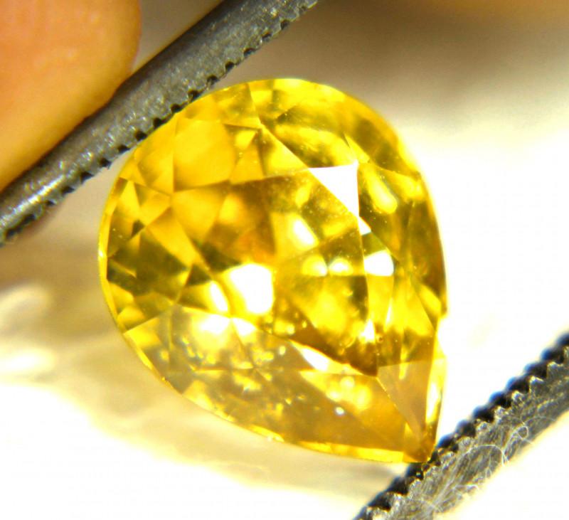 3.56 Carat SI Yellow Zircon - Gorgeous