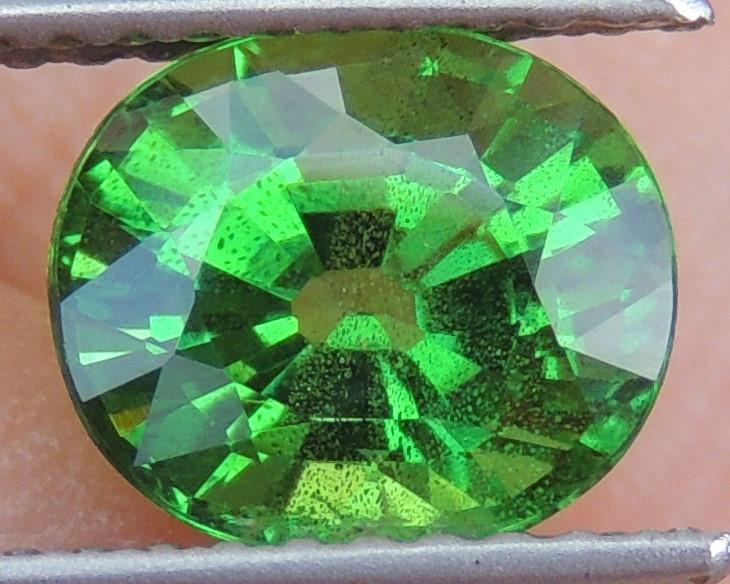 2.07cts, Tsavorite,  Untreated,  Pure Green,