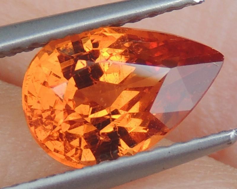 2.29cts,  Mandarin Spessartite Garnet,
