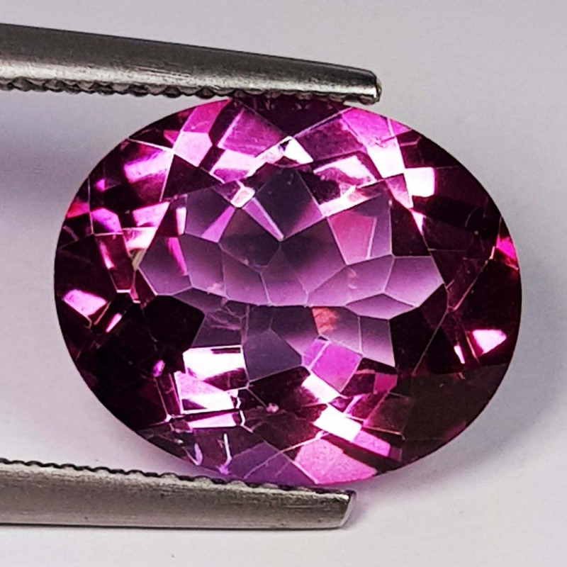 5.80 Ct Top Quality Oval Cut Natural Pink Topaz