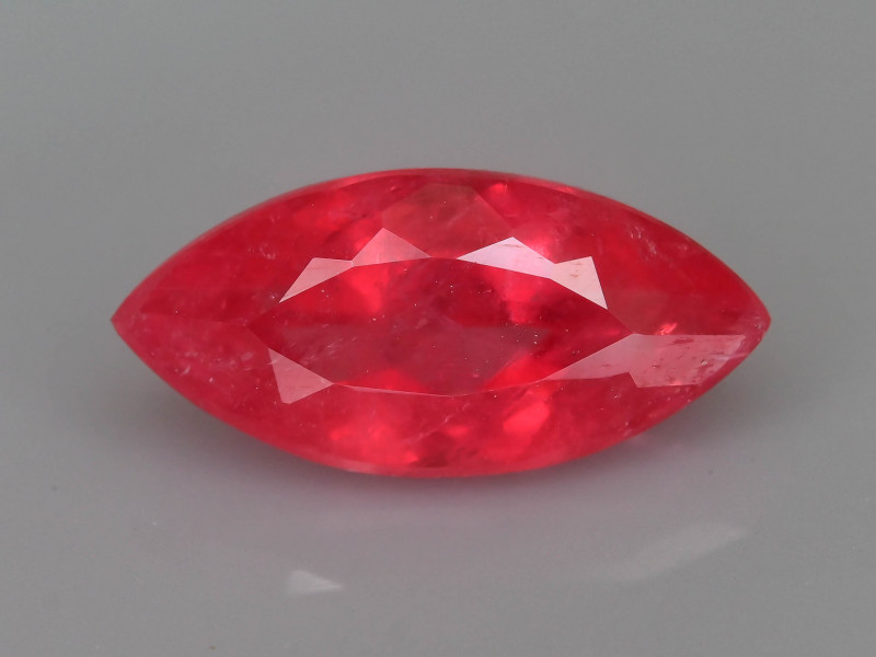 Rare Rhodonite 1.25 ct Great Rasberry Color Africa SKU 7