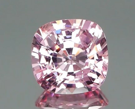 *NR* Pastel Pink Spinel 2.34Ct Square Cushion
