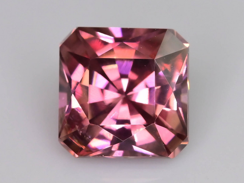 Rare Red Zircon 1.70 ct Imperial Specie Cambodian Mined SKU.20