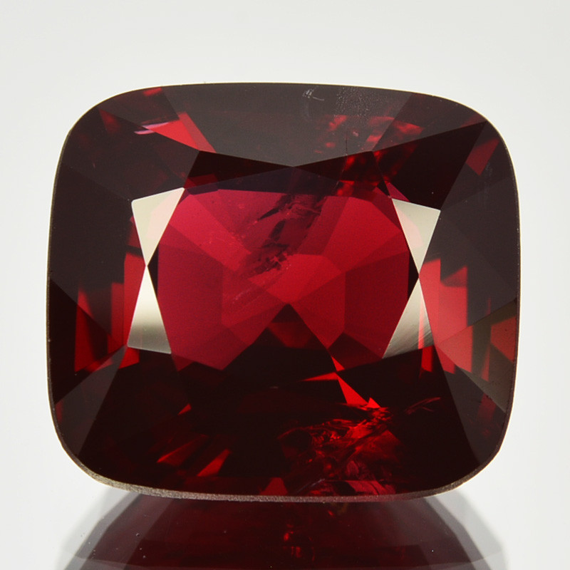 ~UNHEATED~ 6.27 Cts Natural Spinel Deep Red Cushion Brumese