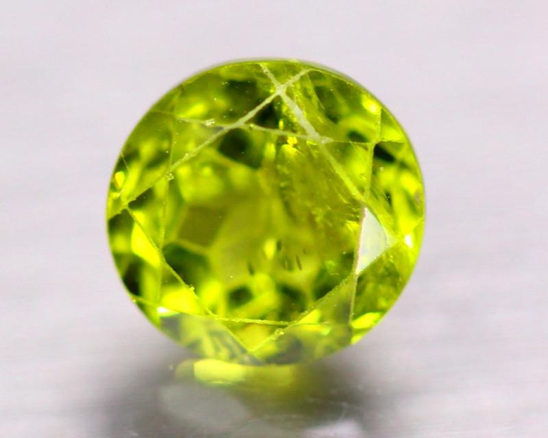 4.14ct Natural Green Peridot Round Cut Lot GW9719