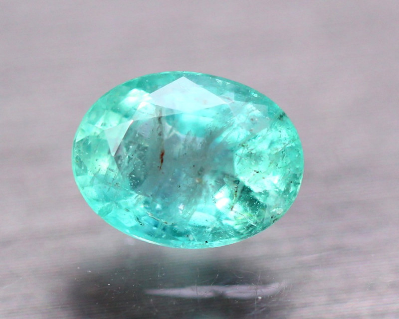 1.88ct Natural Zambia Green Emerald Oval Cut Lot GW9722