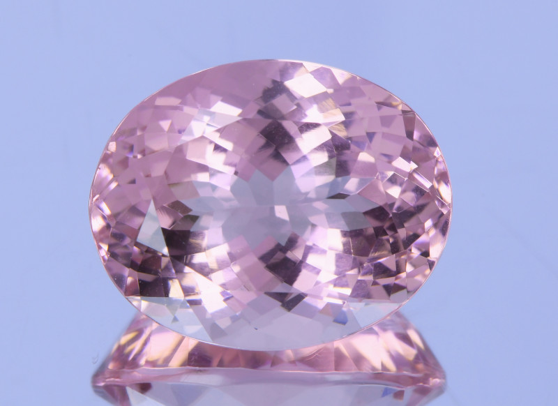 9.15Ct Flawless Sakura pink Morganite Exquisite Quality Gemstone