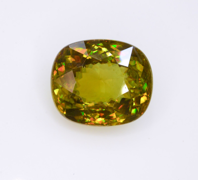 Unseen  spark 15.00 Ct Natural Sphene From Madagascar mined