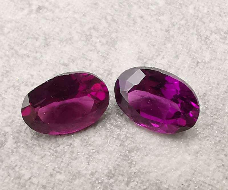 Garnets: 1.95ct, aren't they worth for jewelry?