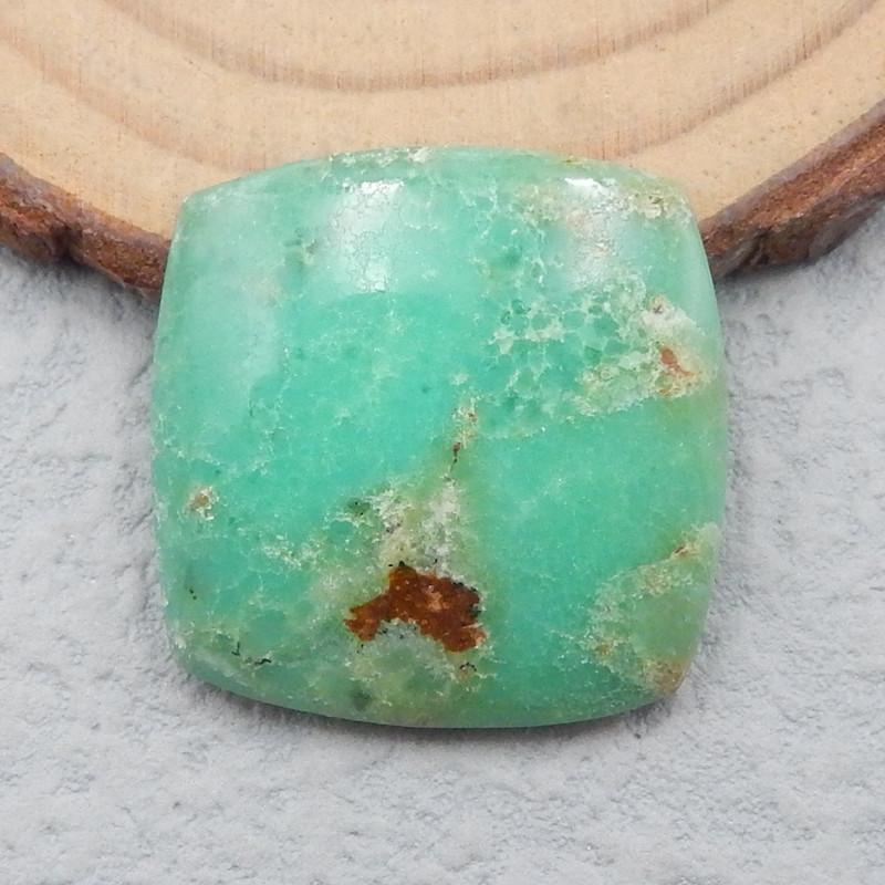 P0743 - 24.5cts Natural Chrysoprase Gemstone Cabochon,Handmade Gemstone Cab