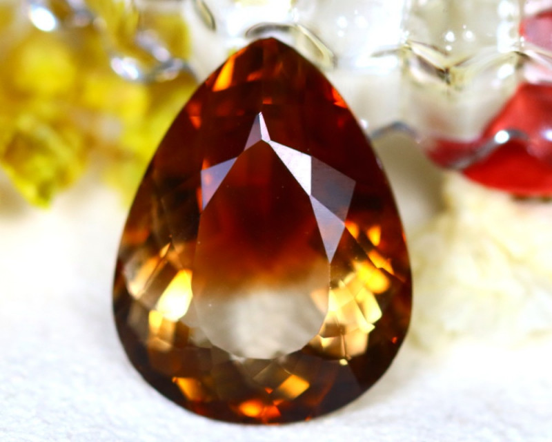 Whisky Topaz 18.80Ct Natural Imperial Whisky Topaz DR673/A46