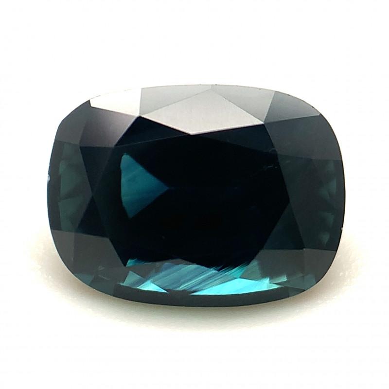 1.57ct Blue Cushion shape Sapphire