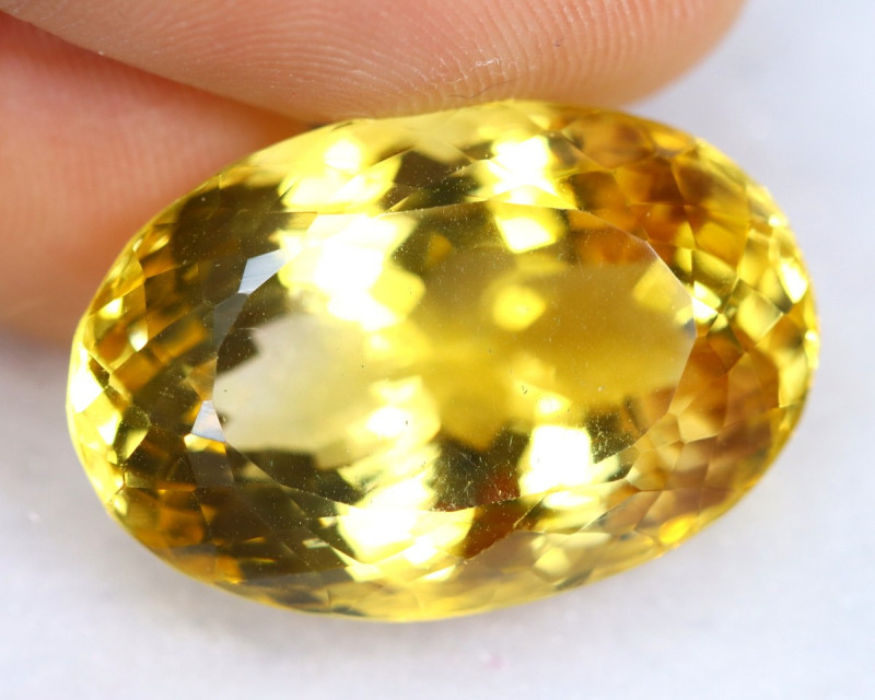 23.22cts Natural Yellow Citrine / OGMA2402