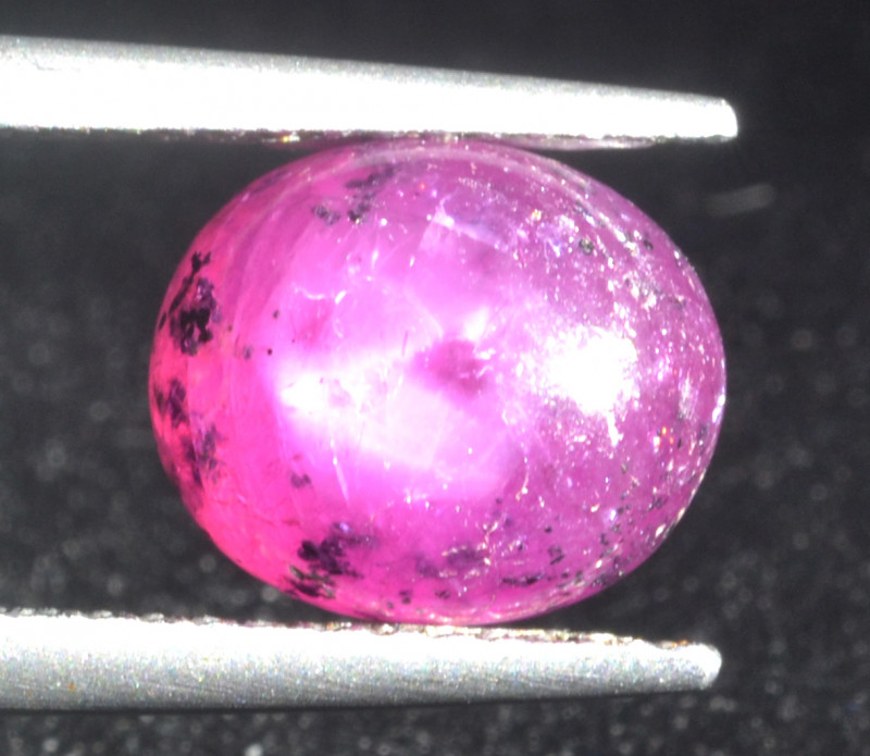 Natural Ruby Cabochon 3.98  Cts from Guinea
