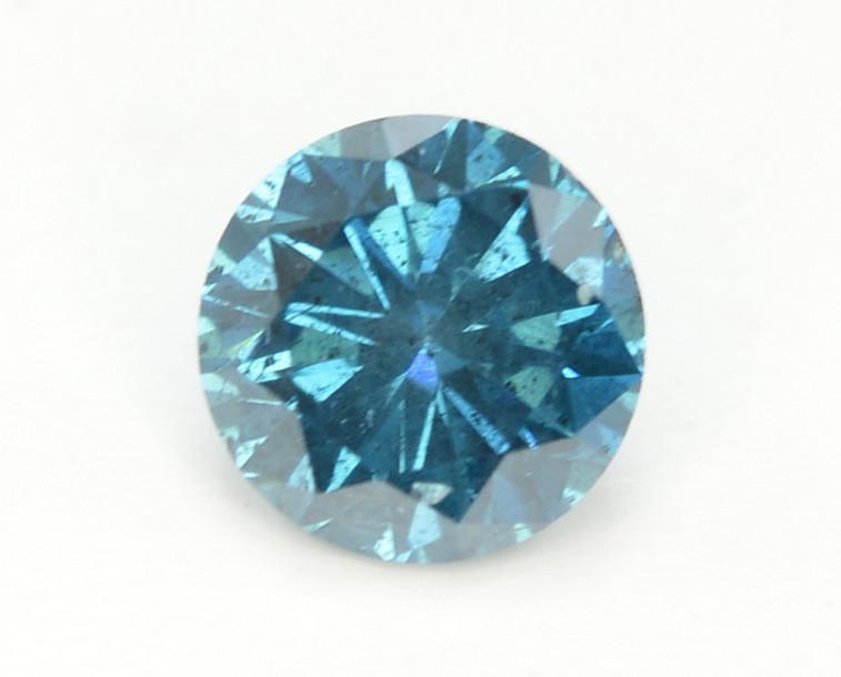 Diamond 0.40 ct Magnificent  Blue Color & Top Brilliance-SKU-8