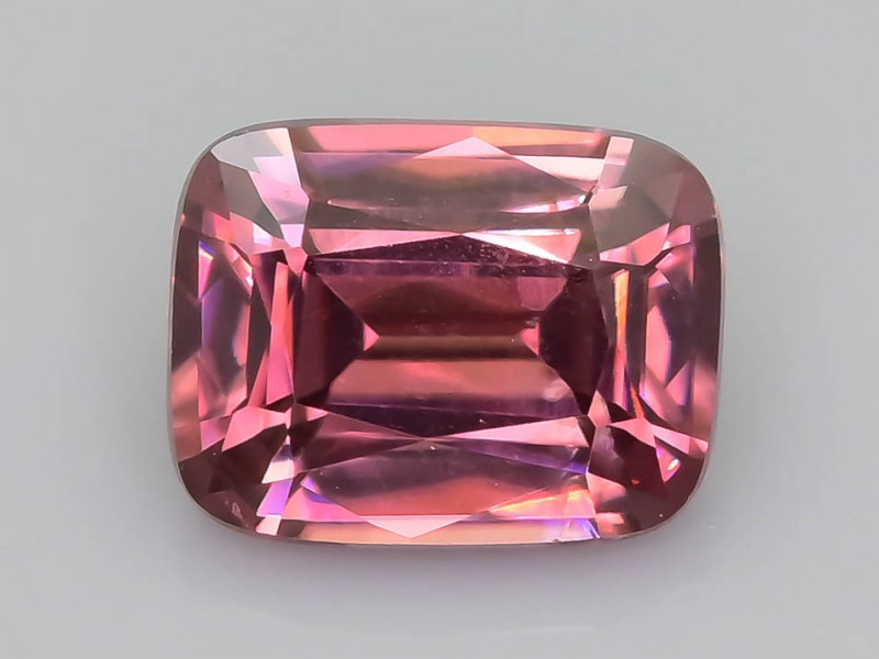 Rare Red Zircon 1.40 ct Imperial Specie Cambodian Mined SKU.19