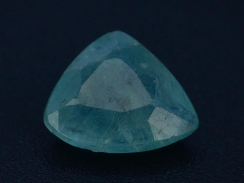 Extreamly Rarest Ct Natural Blue Grandidierite 1.50ct Madagascar Mined