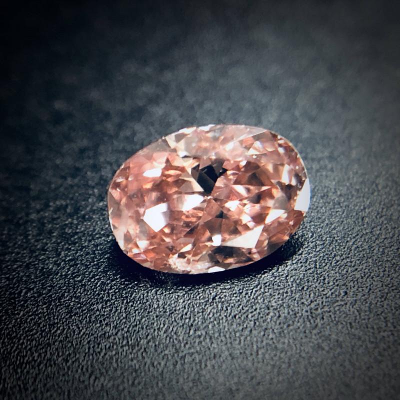 0.18 Fancy Deep Brown-Pink SI2