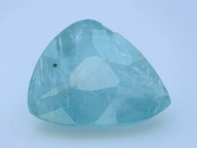 Extreamly Rarest 1.15Ct Natural Blue Grandidierite Madagascar Mined