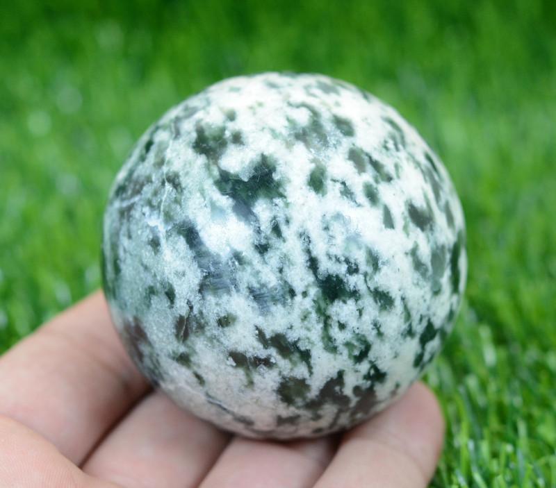 1950 CTs Beautiful Healing Sphere Zebra Jasper From Pakistan