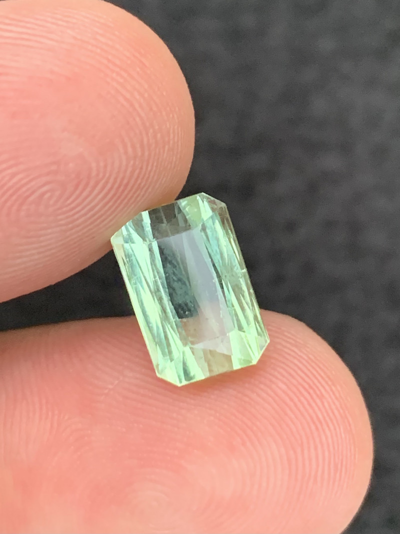 4.30 carats green color  Tourmaline Gemstone