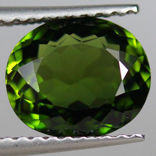 1.89CT 8X7MM Copper Bearing Natural Mozambique Tourmaline-PTA962