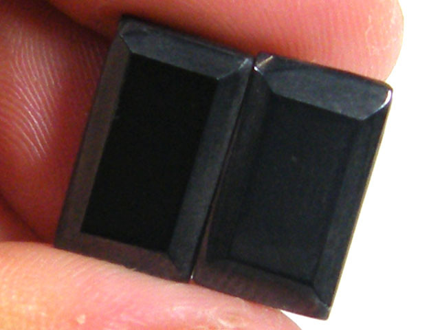 TWO NATURAL MAGNETIC STONE  15  CARATS  TR 621