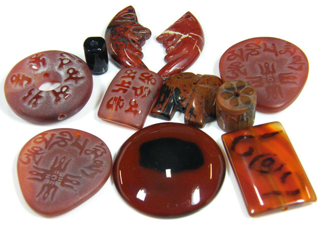 RE SELLERS DEAL SPECIAL AGATE BEADS ONLY $3.00  TR 633