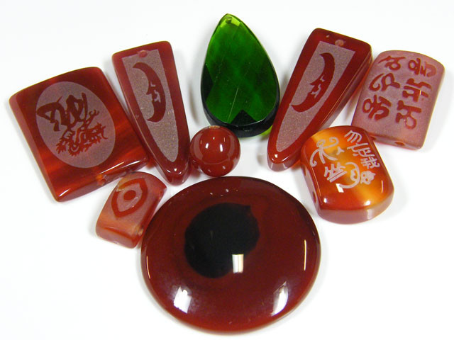 RE SELLERS DEAL SPECIAL AGATE BEADS ONLY $3.00  TR 639
