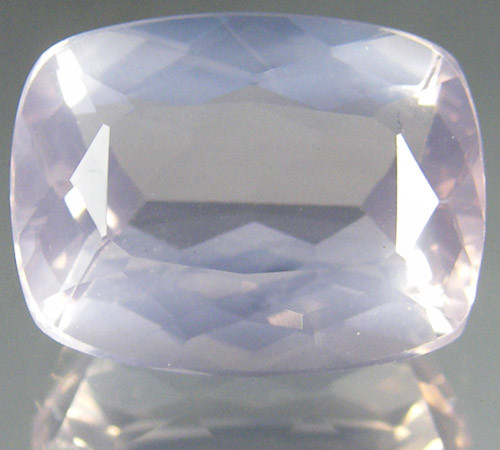 CERT ROMANTIC PINK ROSE QUARTZ GEM 6.77 CARATS 0174