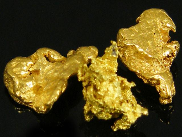 3X AUSTRALIAN  ALLUVIAL GOLD NUGGETS 1.19  GRAMS  LGN 778