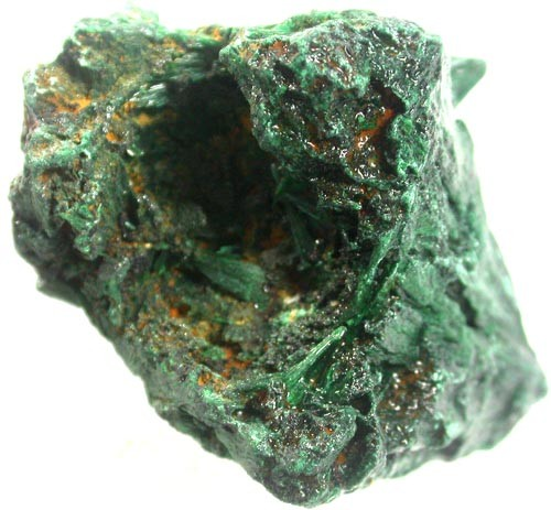 MALACITE  CRYSTAL ROUGH  132.60  CTS [MX4923]