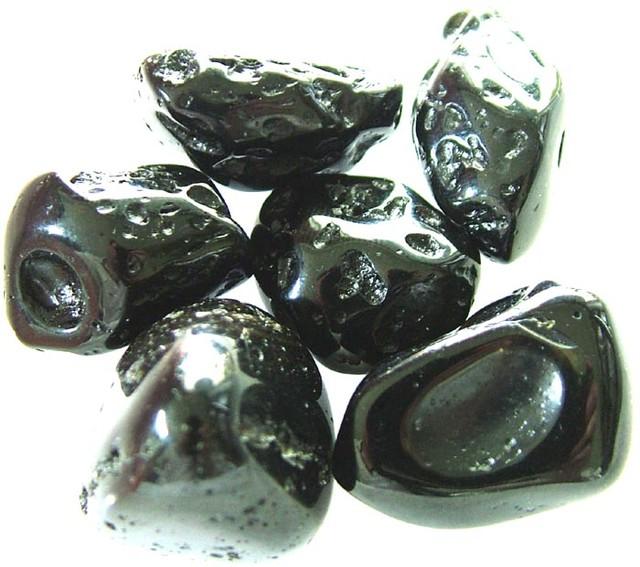 JET BLACK TEKTITE PARCEL [6]-GHANA 210.10 CT [MX 6010]