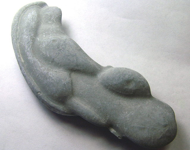 CANADIAN FAIRY STONE CONCRETION SCULPTURE 188CTS AS-3034