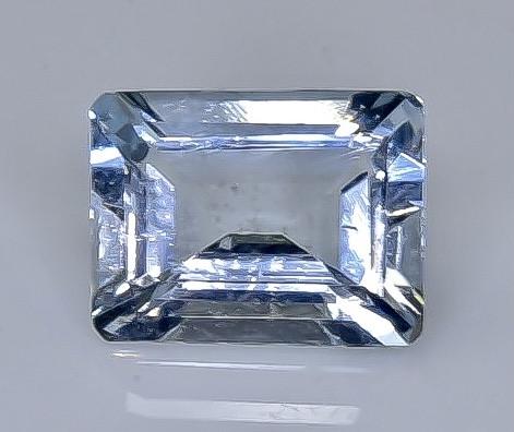 Crt 1.90  aquamarine  Natural  Faceted Gemstone.( AB 34)